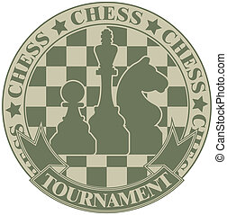 Chess tournament symbol - The vector image Chess tournament...