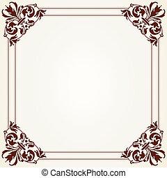 Decorative Vintage Frame - The vector image Decorative...