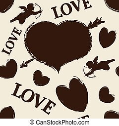 Happy valentine seamless
