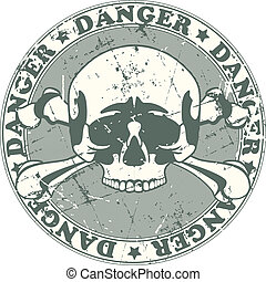 Danger stamp