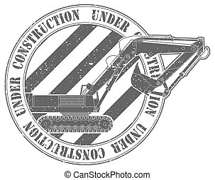 Stamp under construction