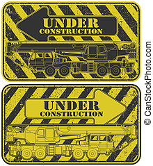 Under construction stamp - The vector image Under ...