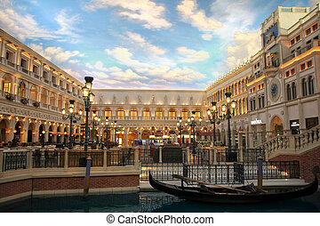 The Venetian Resort Hotel Casino on 2 July, 2012 in Vegas, ...