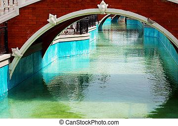 The Venezia bridge