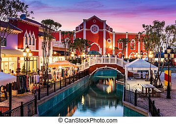 The Venezia Hua Hin, a shopping venue in Venice style near...