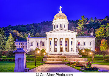 The Vermont State House