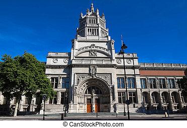The Victoria and Albert Museum, London, United Kingdom.