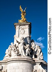 The Victoria Memorial in front of Buckingham Palace, London, United Kingdom