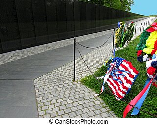 the vietnam wall memorial