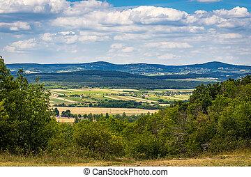 The view from Tihany Peninsula