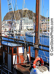 The view of Alesund