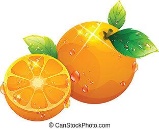 The view of orange