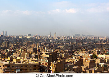 The view on Cairo from top