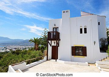 The villa at luxury hotel, Crete, Greece