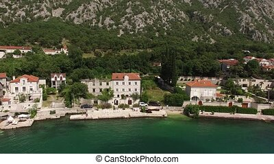 The villa is in the village of Ljuta. Montenegro, Kotor Bay, Adr