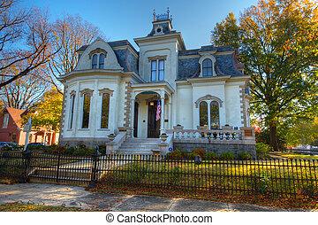 The Villa Marre (Front) - The Villa Marre was built in 1881...