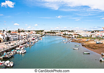 The village Tavira in Portugal