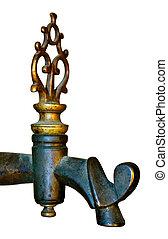 The vintage faucet