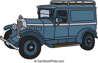 The vintage service car