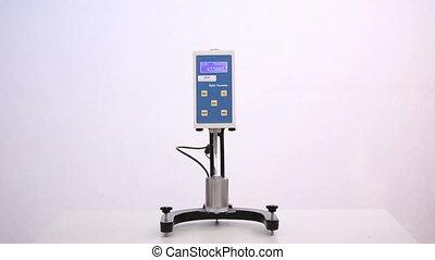 The viscometer working - Viscometer measure the viscosity of...