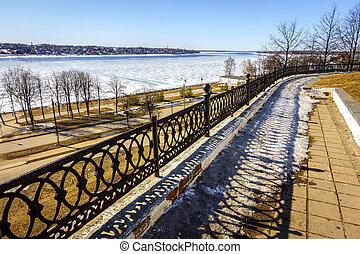 The Volga River