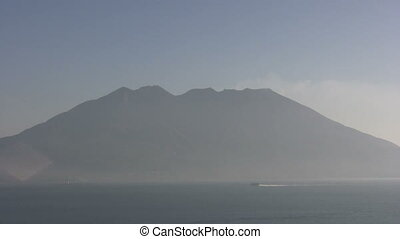 The vulcano Sakurajima - Sakurajima is a very active...