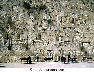 The Wailing Wall, Jerusalem