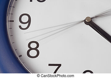 wall clock with going hour hand - the wall clock with going...