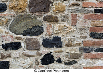 The wall of stone