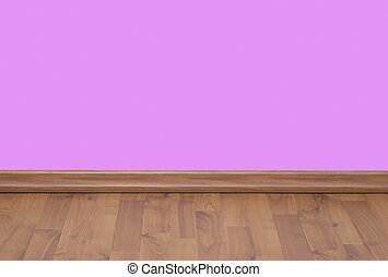 The wall - A pink blank wall useful for your designs
