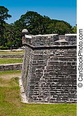 The walls at San Marcos Castle