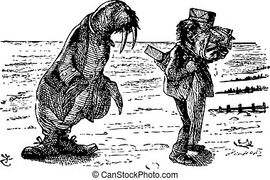 The Walrus and the Carpenter - Through the Looking Glass and...