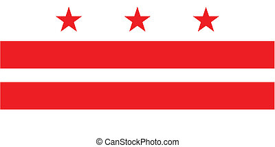 Washington DC State Flag