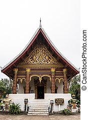 Wat Aham temple - Monastery of the Opened Heart - in Luang Prabang, Laos