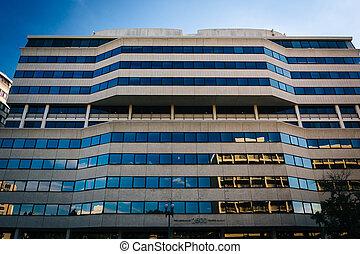 The Watergate Hotel, in Washington, DC.