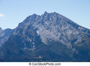 Watzmann - The Watzmann, the third highest mountain in...