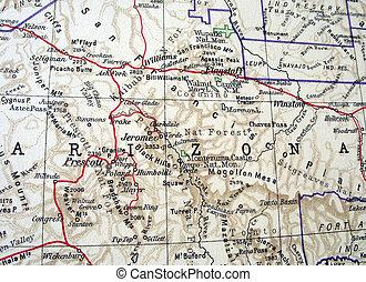 Arizona - The way we looked at Arizona in 1949.