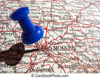 Des Moines, Iowa - The way we looked at Des Moines, Iowa in ...