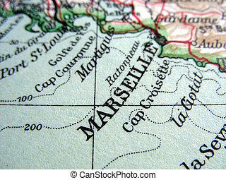 Marseille - The way we looked at Marseille in 1949.