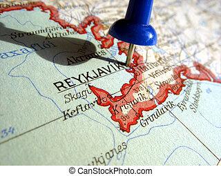 Reykjavik - The way we looked at Reykjavik in 1949.