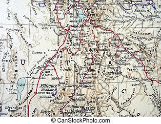 The way we looked at Utah in 1949.