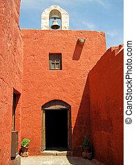 The well known Monastery Santa Catalina (Arequipa, Peru)