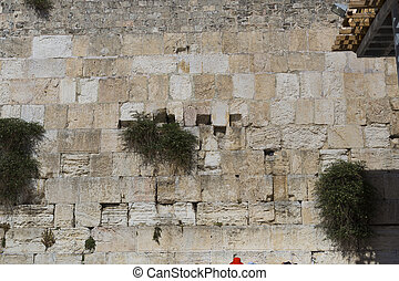 the Western wall in Jerusalem