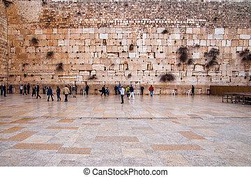 The Western Wall, Jerusalem, old city