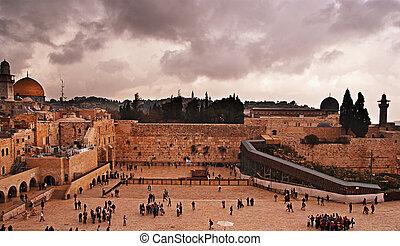 The Western Wall, Temple Mount, Jerusalem
