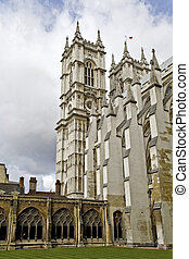 The Westminster Cloister - View of the cloister of...