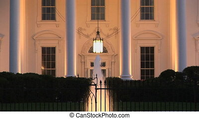 The White House, home of the President of the United States...