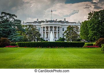 The White House, in Washington, DC.
