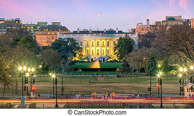 The White House  in Washington, D.C. United States