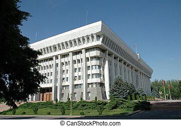 The White House of republic Kyrgyzstan. Bishkek